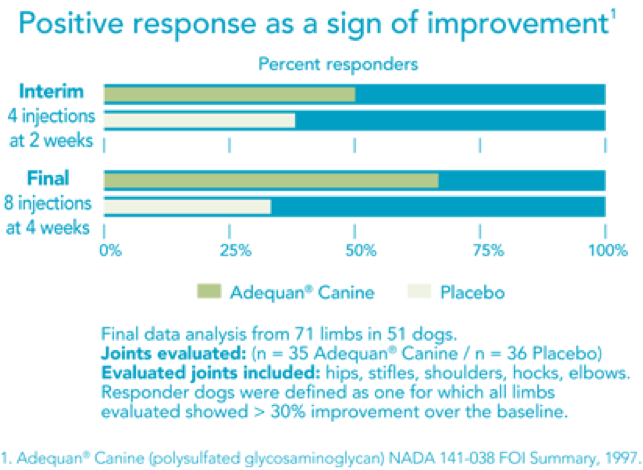 Positive response as a sign of improvement